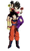 Goku and his fans by AdeBa3388