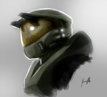 Master Chief Quickie by SpartanK42