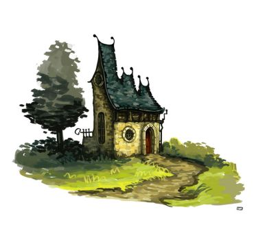 Cottage 01 by TypoCity