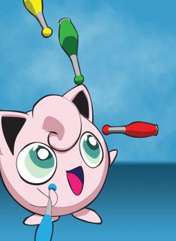 JugglyPuff Cell Poster by theOZmosis