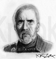 Count Dooku by krizok