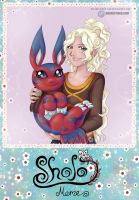 .com - Shojo Meme - Mag and Elecmon by Lord-Evell