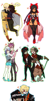 |Pixel Commission| Batch #1 by KasuSei