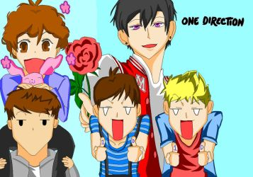 One Direction Host Club by OneDirectionFanJohn
