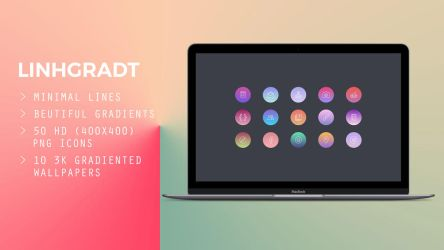 Linhgradt icon pack by turnthelighstoff