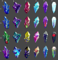 Crystal Core Knowledge Crystal Color Concepts 2 by LordDonovan