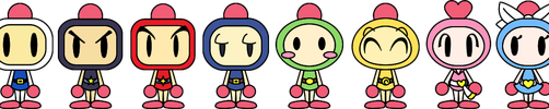 Super Bomberman R PACs by LimeTH