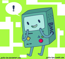 BMO doodle by Jackie-lyn