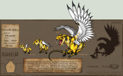 equira:guardian: Yellow Horn by Narsilion