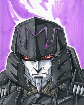 IDW ongoing megatron by markerguru