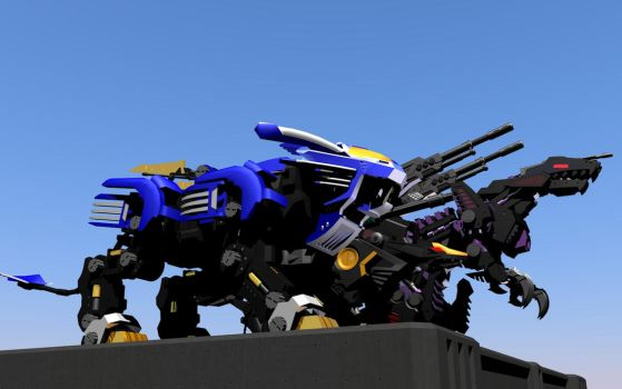 New Zoids Render by ITman496
