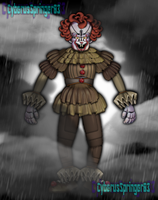Funtime Pennywise! by CyberusSpringer03