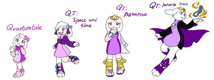 Quantumtale: Healer Toriel Outfit Timeline by perfectshadow06