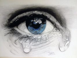 The Teary Eye by ZakArtGallery