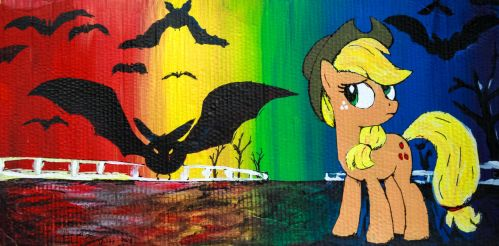 Apple Jack with Bats! by AquilaTEagle