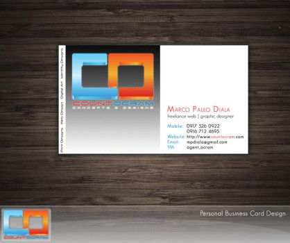 countOcram Business Card by countocram