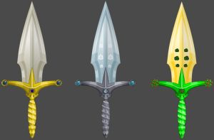 Sterling Spikes (All Versions) by Occavatra