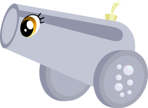 Derpy is now Cannon by cthulhuandyou