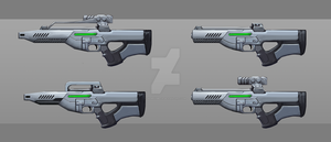 Rifle Concept 02 - Coexistence by nemisisbeta