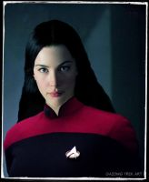 Liv Tyler Star Trek by gazomg