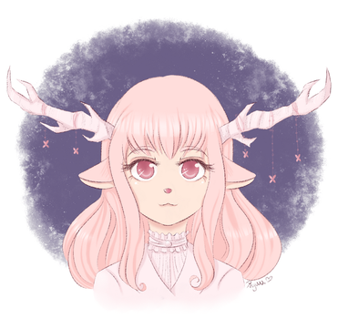 Oh deer lady - contest entry by HinoChan00