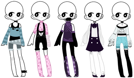 SP Outfit Adopts (1/5 OPEN) [NOW TAKING POINTS] by ImaginationTrap