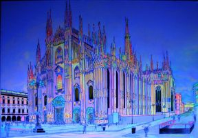 Milan Duomo Cathedral by PhoenixGR