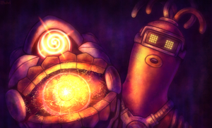 ARMS - Ripha's Helix by Louivi