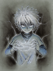 Killua by shazy