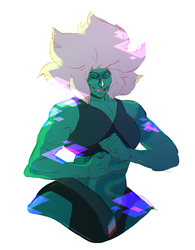 malachite by catghost