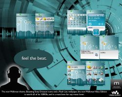 Walkman Vibes Edition Theme by snm-net