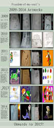 My art Journey! by Freedom-of-my-Soul