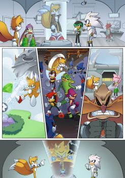 Tails: Silver Landing - Page 3 by shamethedawg