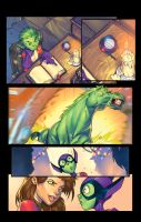 Beast Boy Holiday page Four by Jonboy007007