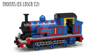Revised Lego Thomas model by ScotNick