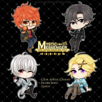 {FOR SALE} Mystic Messenger Charms by icylilies