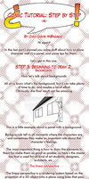 TUT_Comic: step by step 4_Beginning to draw 2 by Chivi-chivik