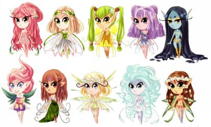 [ADOPT] Fairies (open 6/10) by reality-unwoven