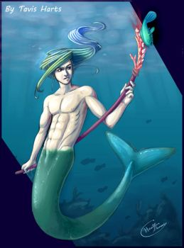 Merman 2 by tavisharts