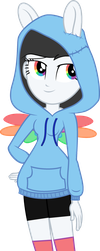 Hoodie Rainbow Star by LilyGarent