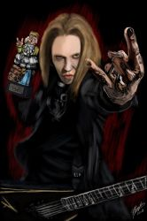 Alexi Laiho by aliencharm