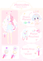 Mooncake Species Guide by fawnbun