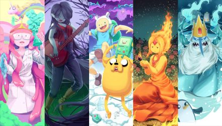 Adventure Time by kamifish
