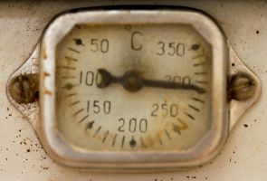 Retro Thermometere 13766078 by StockProject1
