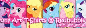 MLP Art T-Shirts @ Redbubble by Bon-Bon-Bunny