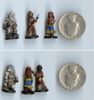 Elfquest Miniatures 01 by Anduinel