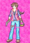 Kira Ready For Action by MadeInHeavenFF15