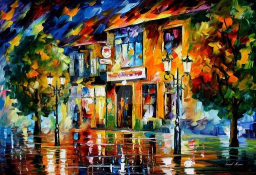 Time For Joy by Leonid Afremov by Leonidafremov