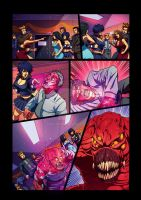 Night Wolf Comic Book Issue #2 Page 8 Colors by RAM-Horn
