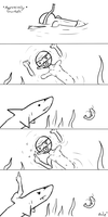 Aggressively Snorkels by TheRailz-Art
